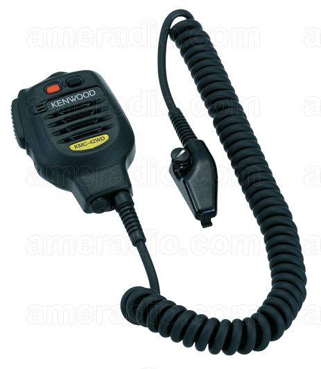 KMC-41 TK-2180 TK-5210 Kenwood KMC-42WD Heavy-Duty MIL-SPEC IP67 Speaker Mic
