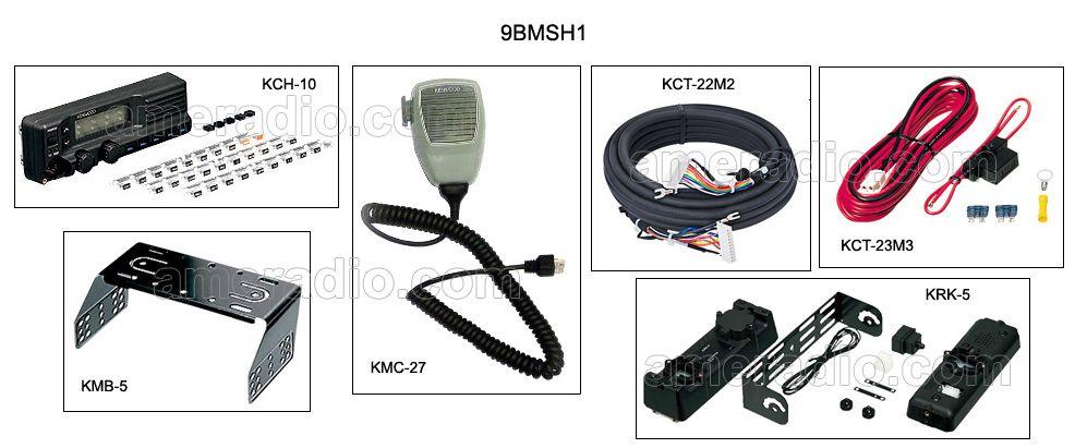 KENWOOD TK690 TK790 TK890 CONTROL HEAD MOUNTING BRACKET